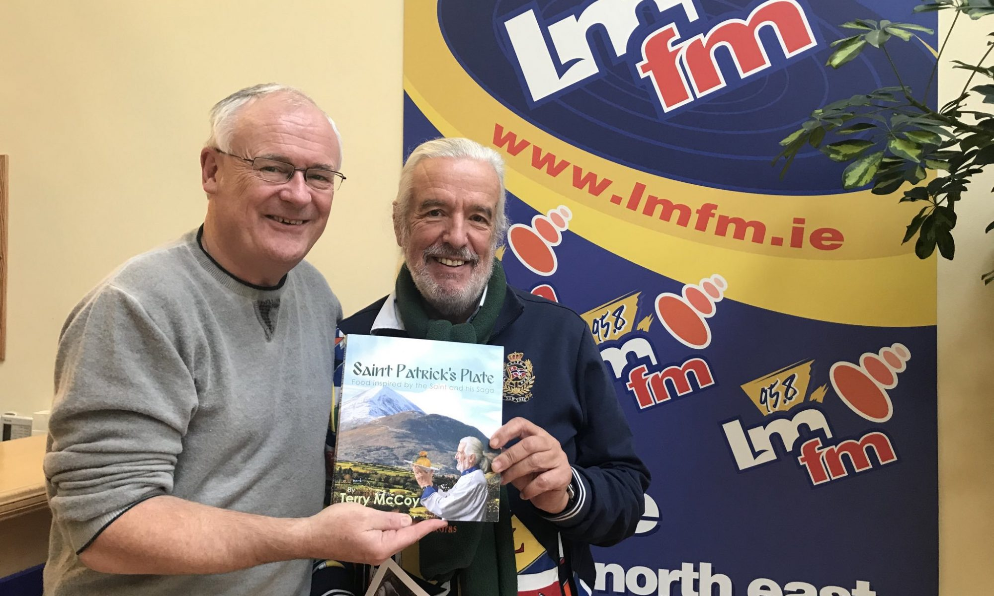 Terry McCoy - Gerry Kelly - LMFM - Radio interview - Saint Patrick