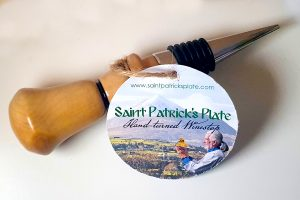 Saint Patrick - Saint Patrick's Plate - Gift Set - Irish gift ideas